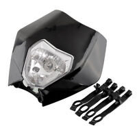 Rec Reg Head Tail Light for Honda CRF150 CRF450X CRF250 CRF125 Black