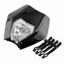 Hot New Black 12V 35W Headlight Fogllight Light for Sport Motorcycle Dirt Bikes