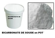 BICARBONATE DE SOUDE SODIUM ALIMENTAIRE FOOD GRADE E500 boite 1KG