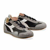 Diadora Heritage Scarpa Sneaker Unisex EQUIPE ITALIA Nero