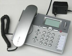 Telekom Sinus PA 300i silber ▪ ISDN-KomfortTelefon, DECT, Anrufbeantw., DECT, AB