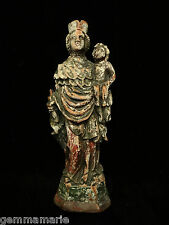 Catholic Antique colonial wood carved Holy Statue santos saint Anthony Joseph
