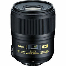 Nikon AF-S Micro-Nikkor 60mm f/2.8G ED Macro Autofocus Lens 2177