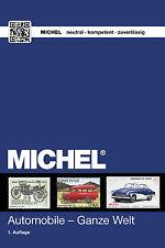 Michel Catálogo Temática Automoviles..a color. Edic. 2015