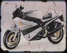 Ducati 750 Sport 88 3 A4 Metal Sign Motorbike Vintage Aged
