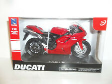 2018 NEW RAY 1/12 SCALE RED 2008 DUCATI 1198 SUPERBIKE