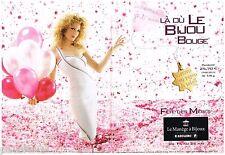 PUBLICITE ADVERTISING 095  2003  LE MANEGE A BIJOUX  joaillier FETE DES MERES(2p