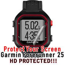 Military Grade Screen Watch Protector 2 Garmin Forerunner 25 Hd Clear Waterproof
