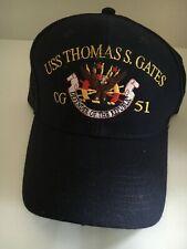 "U S Navy Cap ""Uss Uss Thomas S. Gates "" Cg 51"