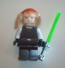 Lego Star Wars Minifigure ~Saesee Tinn With Light Saber 9498