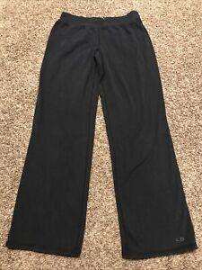 C9 champion womens S black cotton blend stretch athletic yoga pants a14