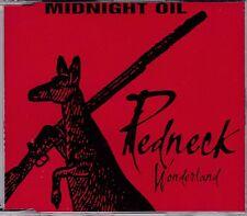 Midnight Oil - Redneck Wonderland **1998 Australian 2 Track CD Single**VGC