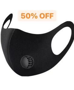 Face Mask Washable Uk Reusable Breathable Shield Protection Face Cover Masks