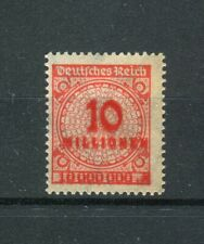 Inflation: Michel Number 318 DD, Double Print Mint