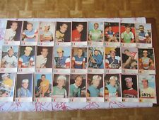 lots de 27 cartes cyclisme MIROIR SPRINT