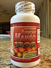 Daily Health Super African Mango 1200mg 60 Capsule Weight Loss Burn Fat Diet