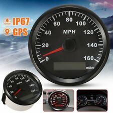 85MM GPS 160MPH Speedometer Odometer Gauge For Car Truck Motobike ATV UTV Boat