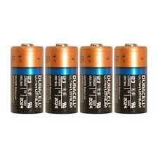 4 Count Duracell Ultra Lithium 3V CR17345 Leak Resistant Long Lasting Batteries