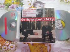 Moby ‎– Go - The Very Best Of Moby Label: Mute LCDMUTEL14 STICKERED UK CD Album