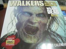 WALKERS THE WALKING DEAD 2017 16 MONTH WALL CALENDAR  NEW SHRINK WRAPPED