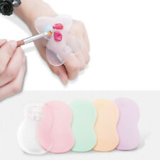 nail art painting s shape silicone mixing palette diy manicure tool newSC