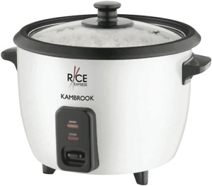NEW Kambrook KRC150WHT Rice Express 5 Cup Rice Cooker