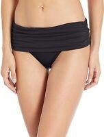 La Blanca Women's 189122 Shirred Banded Hipster Bikini Bottom Swimwear Size 6
