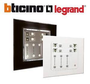 Legrand Arteor Bticino RGB LED Electronic Dimmer Switch Lighting Control 3x1000w