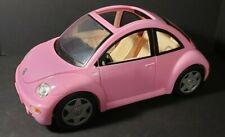 BARBIE VW Volkswagon Beetle Bug PINK Car 2000 Mattel