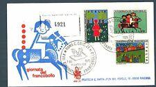 ITALIA REP. - 1975 - Giornata del Francobollo - XVII° giornata su FDC Venetia
