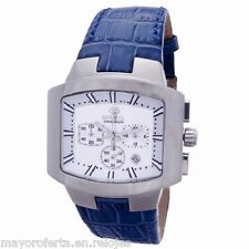 Reloj hombre Breil Milano Style 2519740846 crono piel blanca P.v.p Joyerías