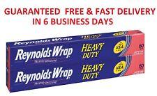 Reynolds Wrap Heavy Duty Aluminum Foil, 18 in x 150 ft, 2-count