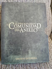 EL SEÑOR DE LOS ANILLOS LA COMUNIDAD DEL ANILLO VERSION EXTENDIDA SOLO LA CAJA