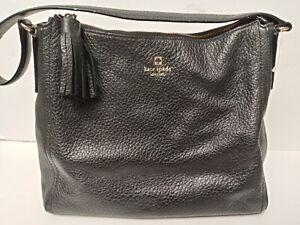Kate Spade Black Genuine Leather Handbag