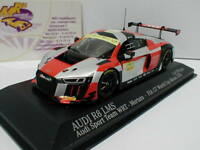 "Minichamps 437161107 - Audi R8 LMS World Cup Macau 2016 "" Motara "" WRT 1:43  NEU"