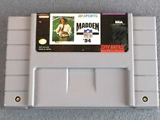 Madden NFL 94 (Super Nintendo Entertainment System, 1993) SNES