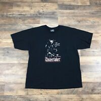 The Undertaker T-Shirt WWE Men's Size XL Black 2000s Vintage Wrestling Adult Tee