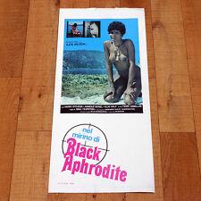 NEL MIRINO DI BLACK APHRODITE locandina poster Ajita Wilson Spy Sexy T91