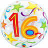 Age 16 - Happy 16th Birthday Qualatex Balloons {Helium Party Balloons Boy/Girl}