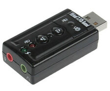 TechByte USB to 3D Audio Sound Card 7.1 Virtual Channel Sound (TT)