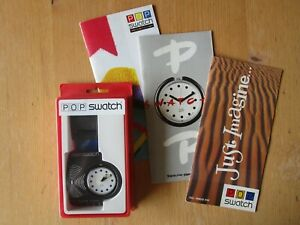 """SWATCH POP SPECIAL PACK  """" RECCO  PRBS 001 """"  +  EXTRAS"""