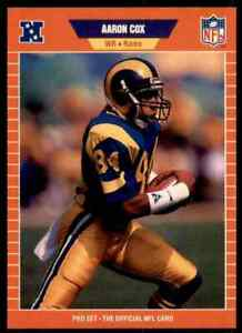 1989 Pro Set NFL FOOTBALL Choose Your Player -Real Pictures Rookie Stars ( C