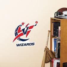 "Washington Wizards 13"" x 10"" Fathead Nba Team Logo Teammate Vinyl Wall Graphics"