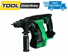 hitachi cordless drill. hitachi 18v cordless sds + plus hammer drill with brushless motor - body only