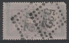 "FRANCE STAMP TIMBRE N° 33 "" NAPOLEON III 5F VIOLET GRIS "" OBLITERE A VOIR  P104"