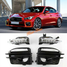 Daytime Running Light For Infiniti Q50 Sport 2014 - 2017 Front Bumper Fog light