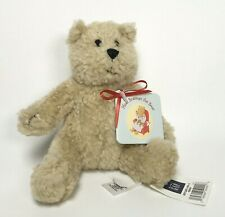 "Baby Gap Stuffed Plush Small Meet Brannan the Teddy Bear Tan Beige 5"" NWT"