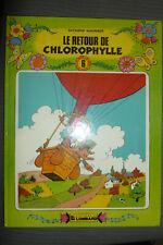 BD le retour de chlorophylle série verte n°6 EO cartonnée 1982 TBE macherot