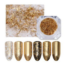 Gold Nail Art Strip Metal Wire Line Stickers Manicure for UV Gel Tips Decoration