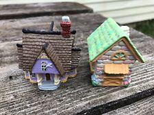 Hallmark Merry Miniatures Halloween & Easter House Lot